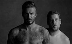Дэвид Бекхэм снялся голым в модной пародии