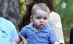 Кейт Миддлтон отвела маленького сына в зоопарк