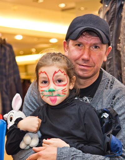 Сергей Кристовский с племянницей
