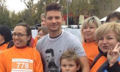 День бега: звезды поддержали благотворительный марафон