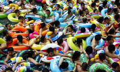 Китайцы страдают от аномальной жары