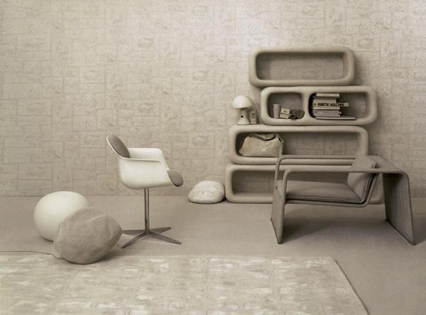 Цвет мебели и обоев