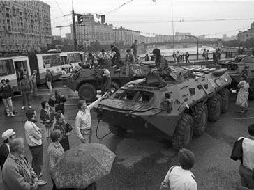 Путч 1991 года в Москве