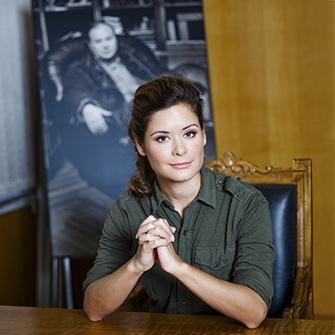 Мария Гайдар, 31 год, журналист, политик, дочь экономиста Егора Гайдара