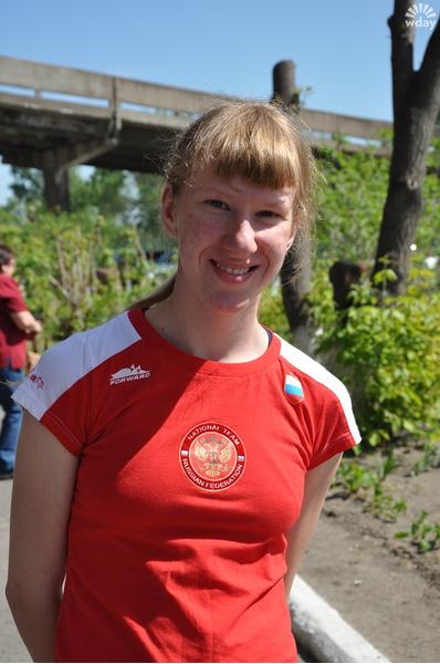 Вероника Зотова - легкоатлетка, член паралимпийской сборной России