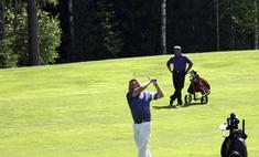 В Подмосковье прошел престижный гольф-турнир