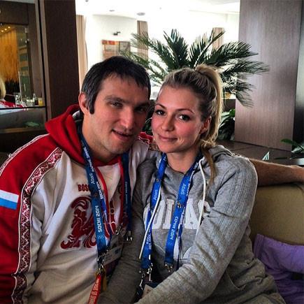 Мария Кириленко и Александр Овечкин фото-2014
