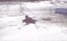 Что делать, если провалился под лед (видеоинструкция)