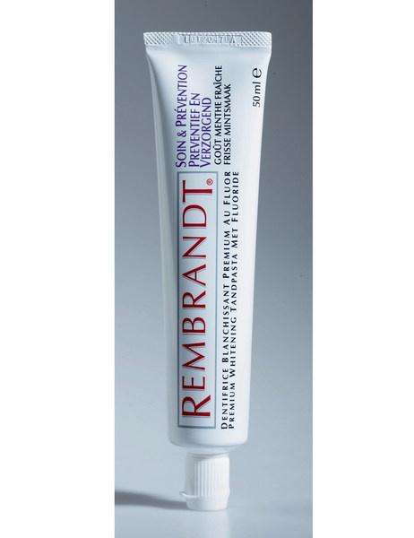 Отбеливающая зубная паста «Антистоматит», Rembrandt