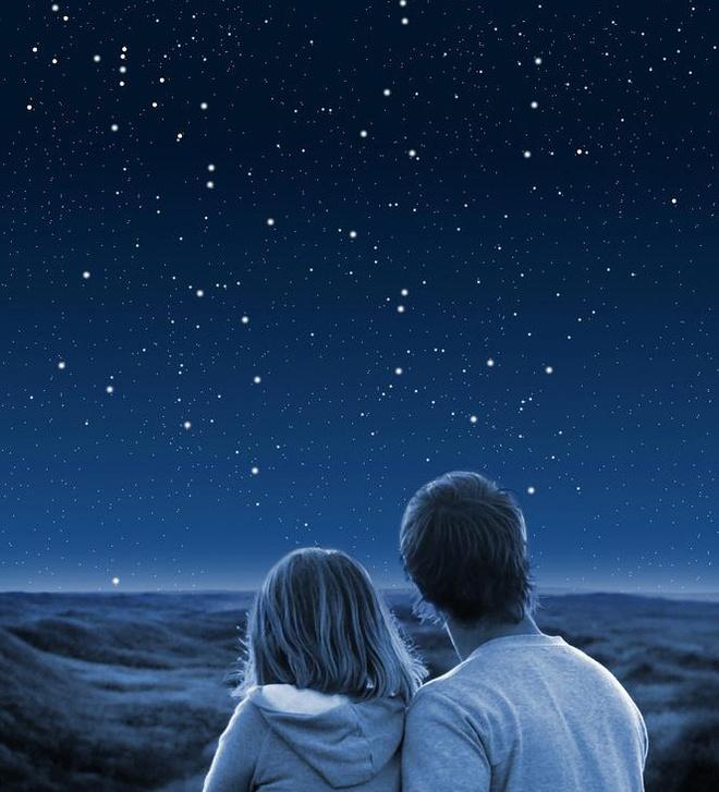 звездное небо, метеорный поток, звезды