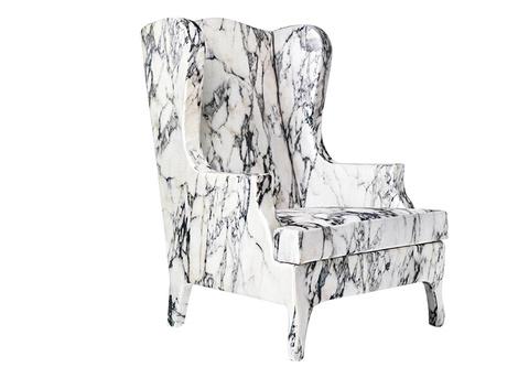 Кресло Louis XV Goes to Sparta, Cerruti Baleri, Галерея дизайна /bulthaup СПб.