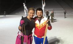 Анна Семенович опробовала новый каток в Сочи
