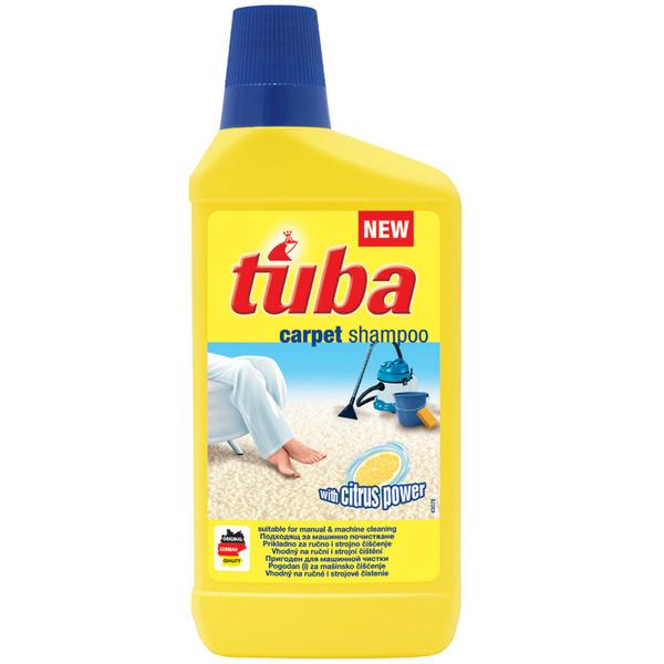 Шампунь для ухода за ковровыми покрытиями Tuba, 500 мл, 110 руб.
