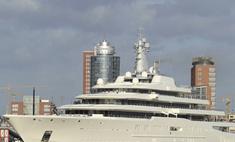 Абрамович недоволен ремонтом своей яхты