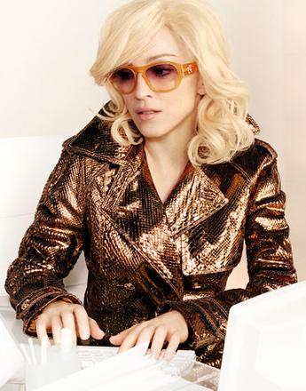 Мадонна в рекламной кампании Versace, 2005 год