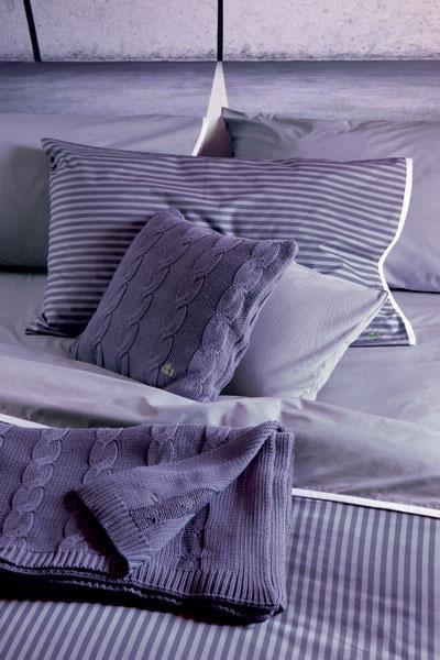 Постельное белье и убранство Rivage, Lacoste, магазины «Евродом».