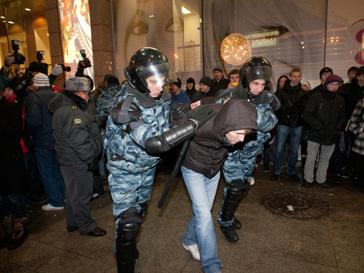 арест, Москва, беспорядки, фанат, Спартак
