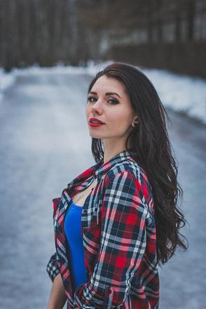 Длинноволосые девушки Тулы, фото, Анастасия Филимонова