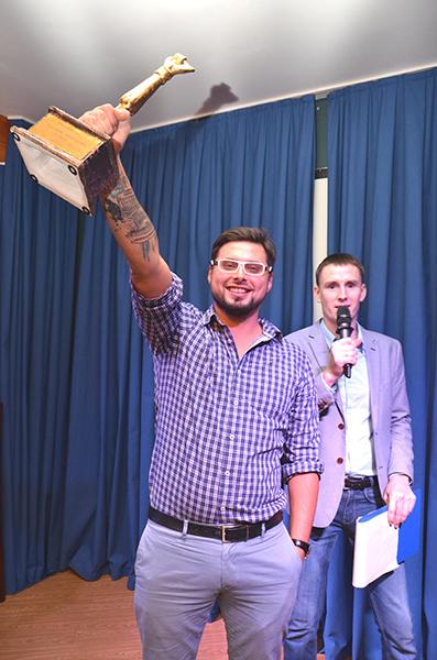 Дмитрий Юшин – победитель кулинарного конкурса