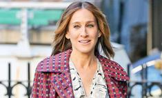 Весенний тренд: Сара Джессика Паркер в стильном пальто