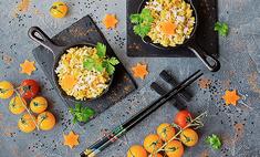 Оякодон – острый омлет с рисом