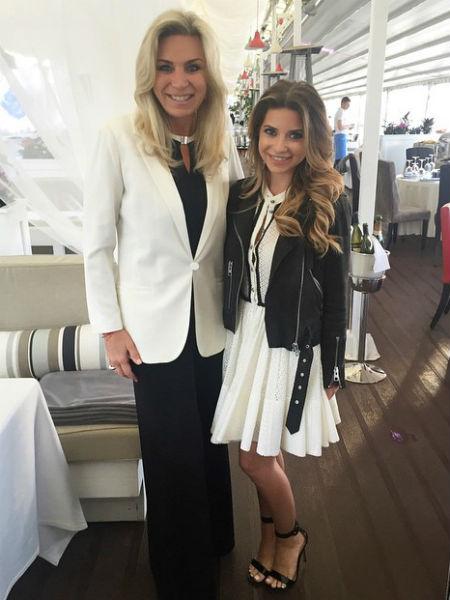 Галина Юдашкина с мамой фото