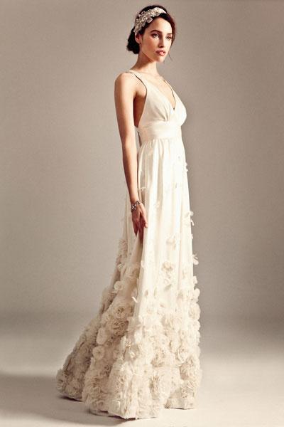 Свадебное платье Temperley London осень-2014