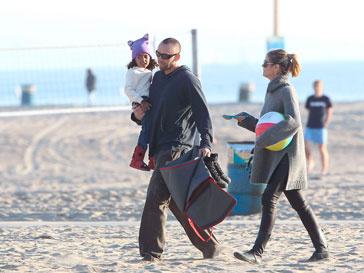 Хайди Клум (Heidi Klum), Мартин Кристен (Martin Kristen) на отдыхе
