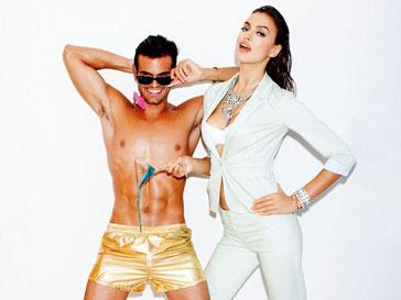 Ирина Шейк (Irina Shayk) в сексуальной рекламной кампании Dynamite весна-лето 2013