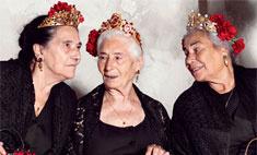 Dolce & Gabbana выпустил коллекцию для старушек