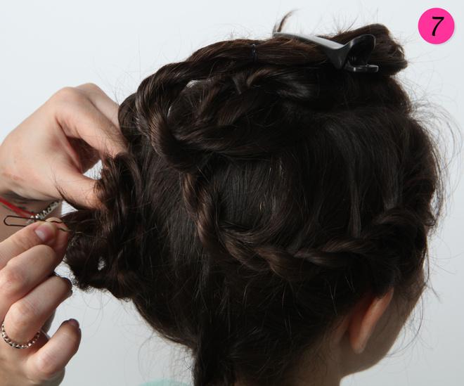жгуты плетение из волос