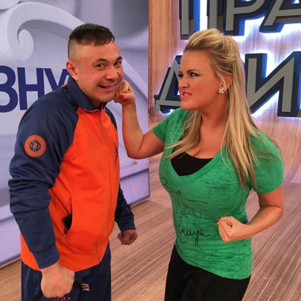 Анна Семенович побила Костю Цзю