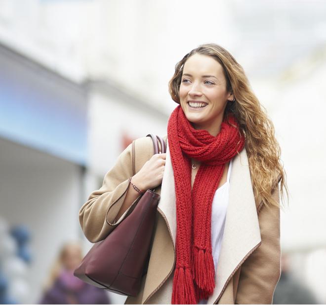 Как модно завязывать шарфы