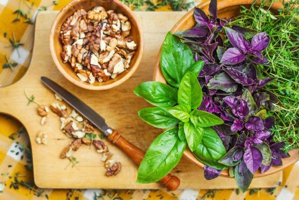 Польза пряных овощей