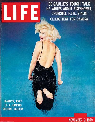 Актриса Мэрилин Монро, 1959 год