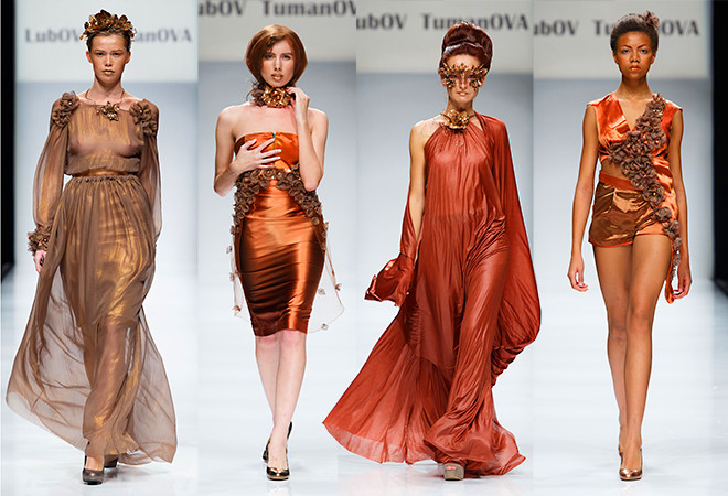 St. Petersburg Fashion Week SS 2015, Lubov Tumanova