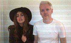 Леди ГаГа посетила Джулиана Ассанжа в Лондоне