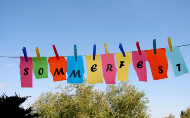 Sommerfest в Упсала-парке