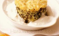 Запеканка с сырами и шпинатом