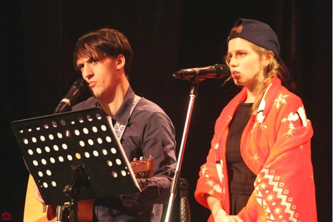 Артур Смольянинов и Дарья Мельникова, фото 2016