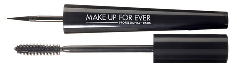 Матовый лайнер Ink Liner, Make Up For Ever; тушь Mascara Essentiel, 10, Sothys