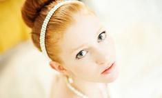Свадьба у зеленоглазой красотки: выбираем макияж