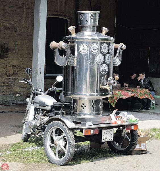 Открытая выставка кастом-мотоциклов, фото