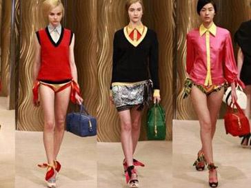 Показ колелкции Miuccia Prada