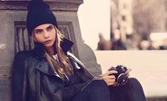 Кара Делевинь выпустила коллекцию для DKNY