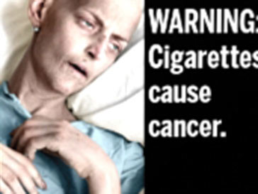Предупреждение: Курение является причиной рака