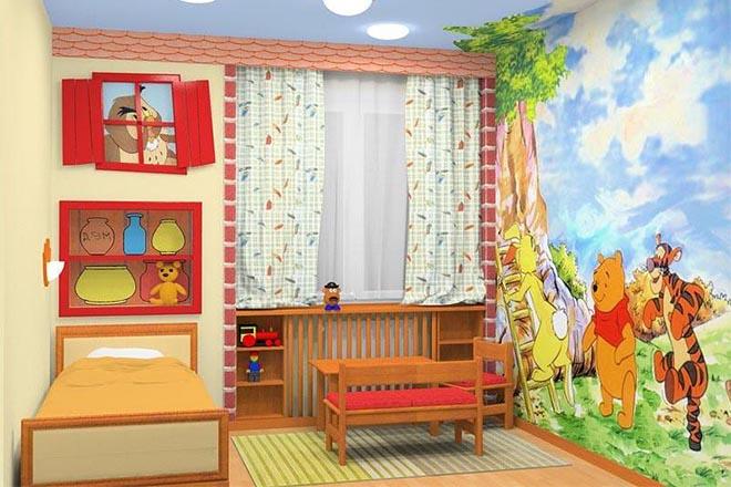 какой должна быть комната для ребенка