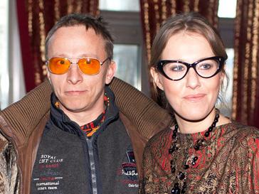 Ксения Собчак и Иван Охлобыстин