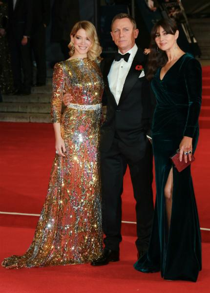 Британские принцы, Кейт Миддлтон, Дэниэл Крейг и Моника Белуччи сходили на премьеру фильма о Бонде