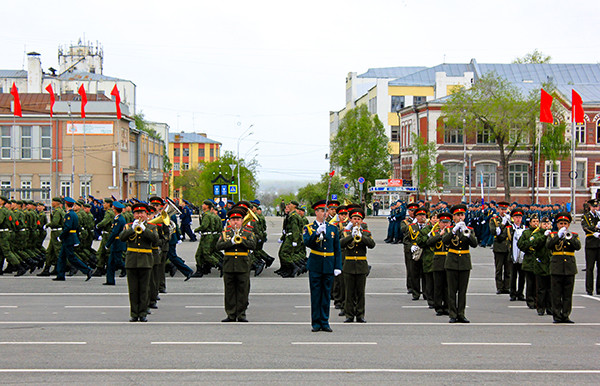 парад в Самаре 2015